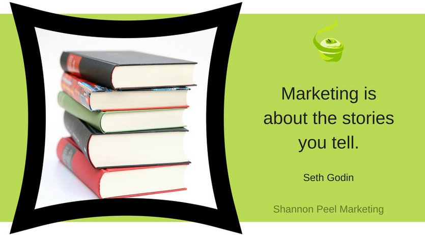 Marketing is stories quote