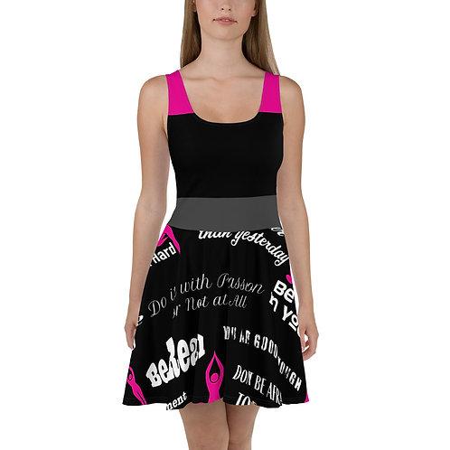 Yoga Inspired Skater Dress