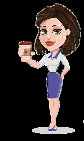 Girl coffee 300.png