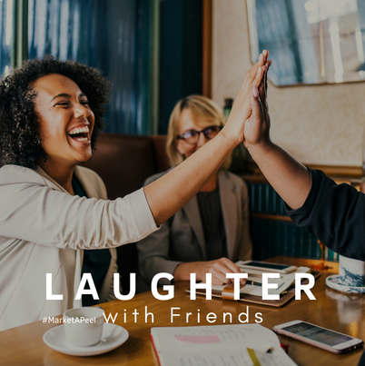 Laughing with Friends
