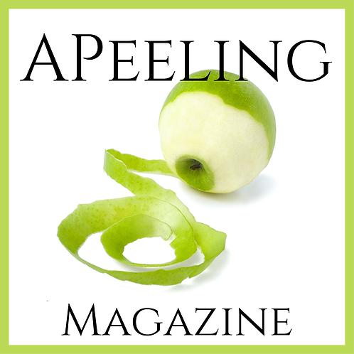 Customized Printed APeeling Magazine