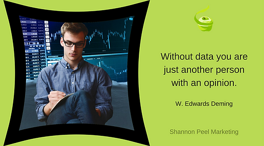Marketing Quote Edwards Deming Data
