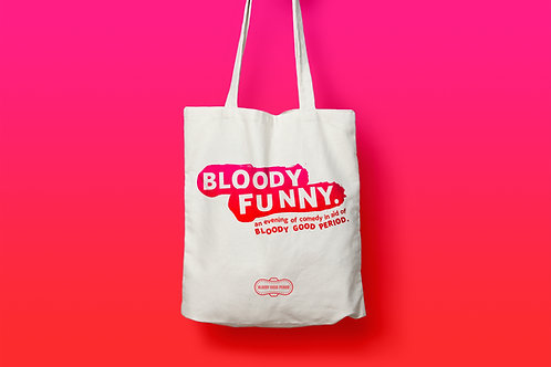 Bloody Funny Tote Bag