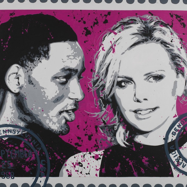 Will Smith et Charlize Theron