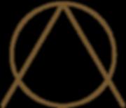 círculo y triángulo