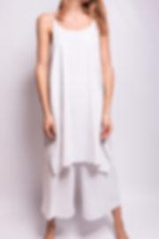 vestido larg blanco