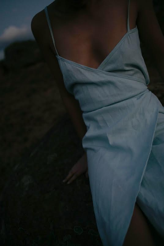 vestido cielo