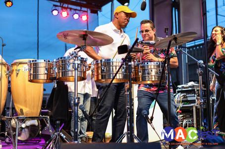 Mayor Ted Green + Tito Puente, Jr.