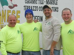 Tony and his crew