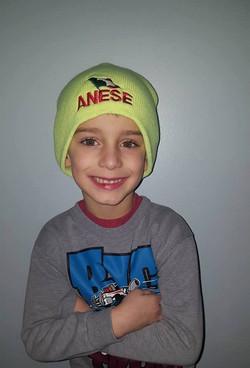 Tony's oldest grandson, Aiden
