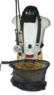 harnais de pêche le OUIM pour la pêche à la mouche et au toc