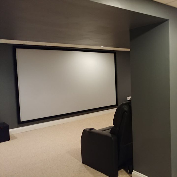 """150"""" Home Theater Screen"""
