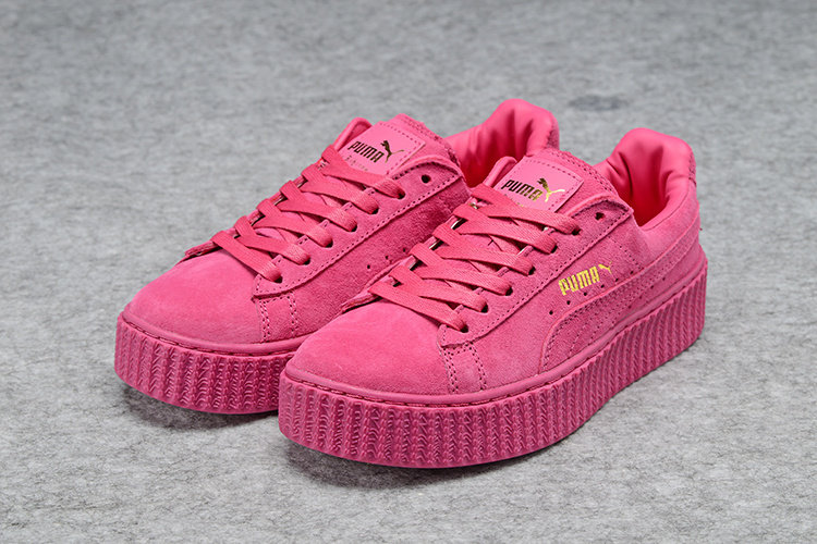 low priced 7f3ba e83d1 Puma Creepers Pink