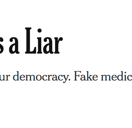 """Dr. Google is a Liar"""