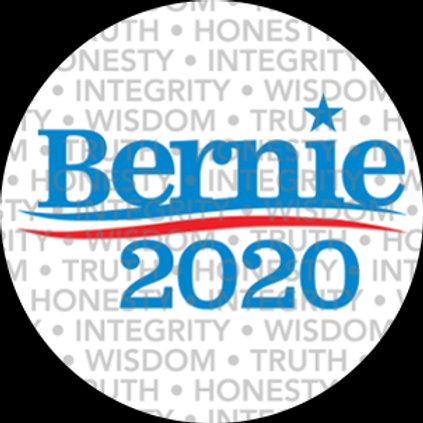 Bernie 2020 (bkgd TRUTH WISDOM HONESTY) (204b)
