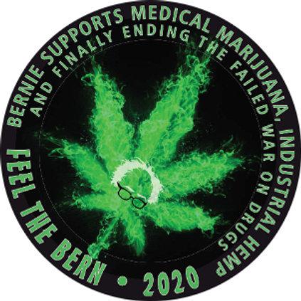 Bernie Supports Medical Marijuana (212f)