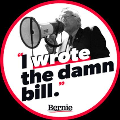 I Wrote the Damn Bill (211e)