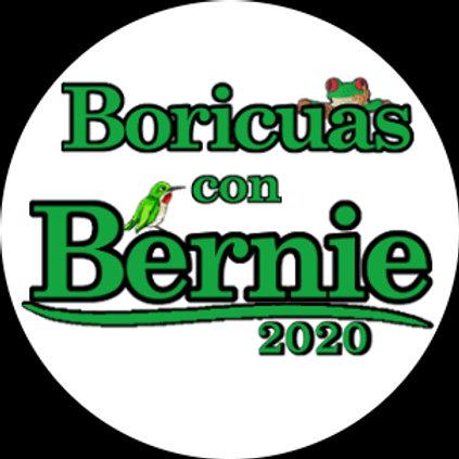 Boricuas con Bernie (green) (211g)