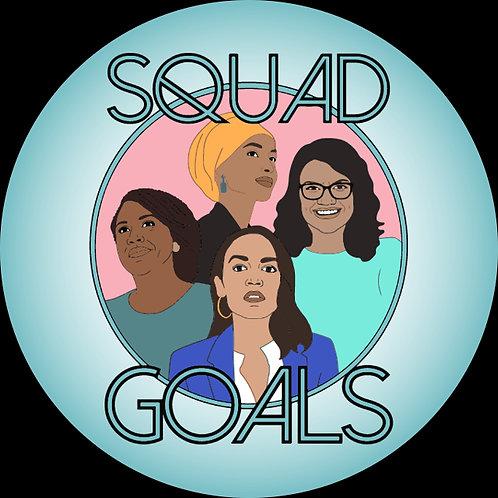 Squad Goals - teal (213i)