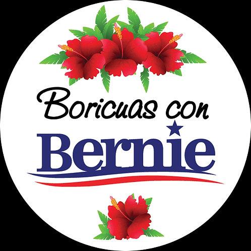 Boricuas con Bernie (white bkgrd) (215h)
