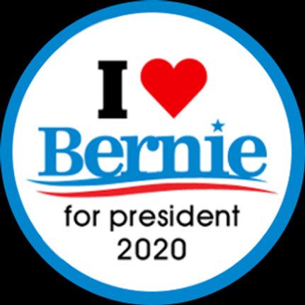 I <heart> Bernie for President (202e)