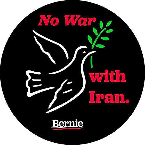 No War with Iran (215i)