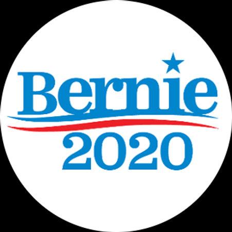 Bernie 2020 (blue on white) (202c)
