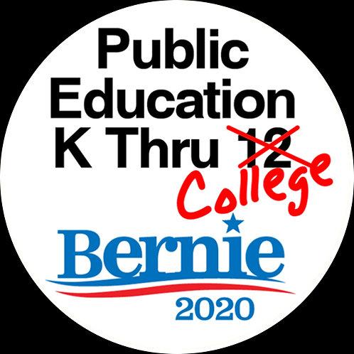 Public Education K Thru College (213f)