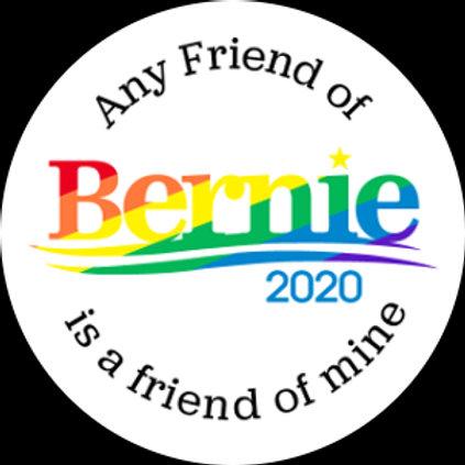 Any Friend (rainbow on white) (203g)