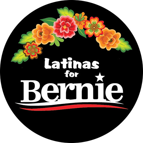 Latinas for Bernie (black bkgrd) (216b)