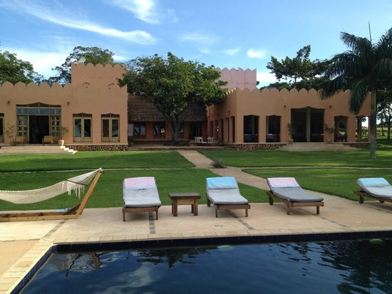 Pineapple bay is a luxury resort on Bulago Island in Lake Victoria, Uganda