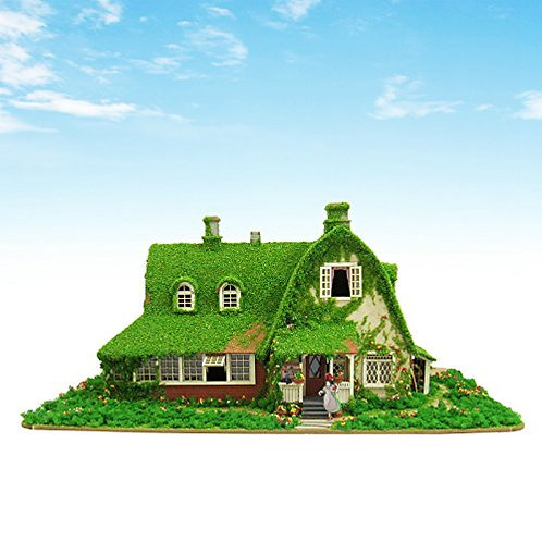 Ghibli Kiki's delivery service - Kikki and Gigi's House 1/150 Scale Paper Craft