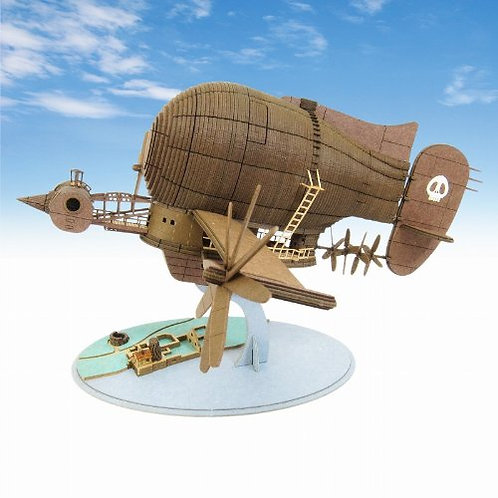 Ghibli Laputa - Castle In The Sky - Miniatuart Paper craft - Tiger Moth