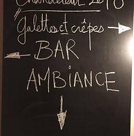 Crêpes, bar, ambiance !