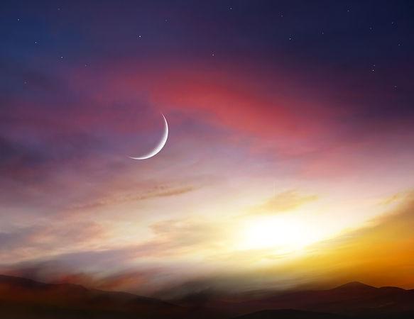 Light from sky . Religion background .