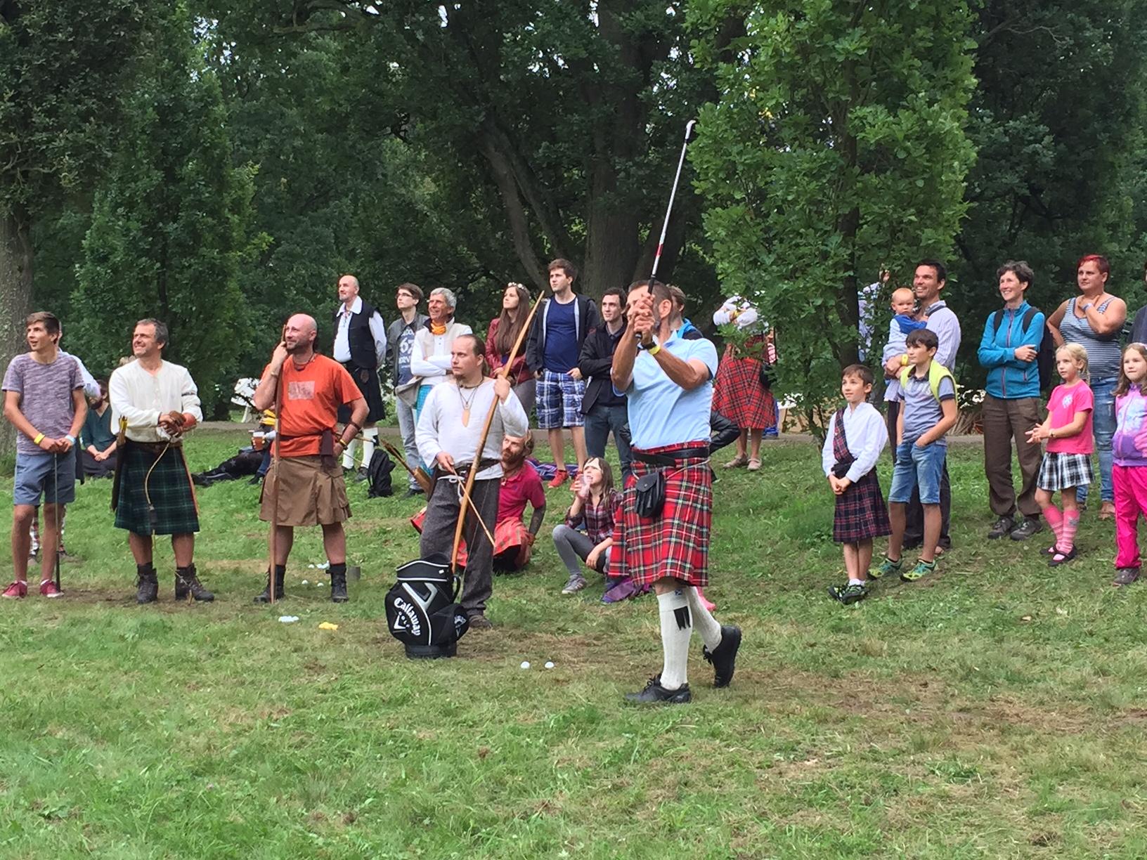 Prezentujeme golf veřejnosti