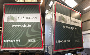 Signstore Signs and Print Portlaoise CJ Sheeran Trailers