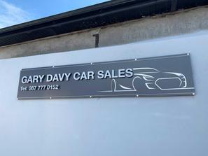 3D Garage Signage
