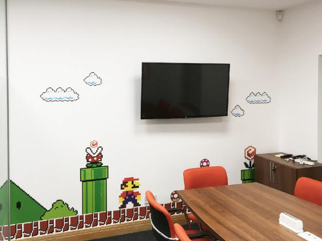 Office Graphic Print Fitout