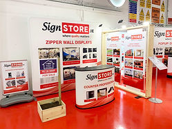 Signstore Signs and Print Portlaoise Showroom