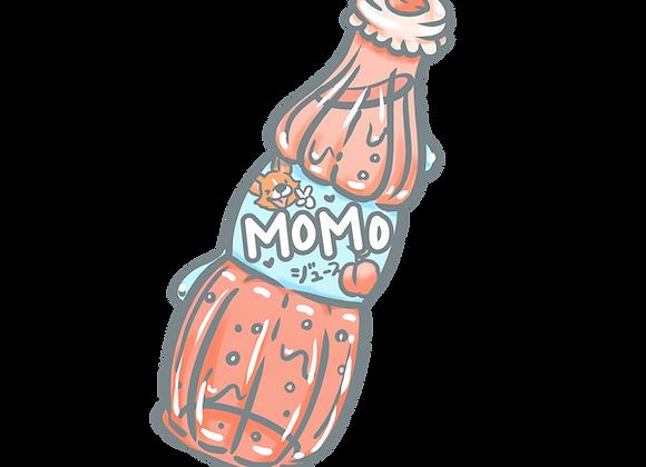 Momo Soda Sticker