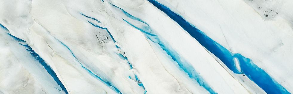 Gebrochen Gletscher