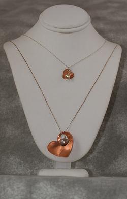 Mother/Daughter Heart Pdt $65