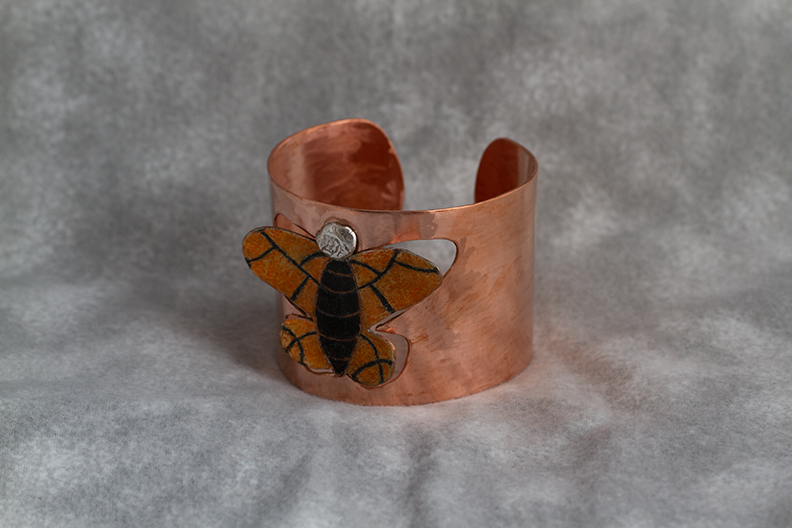 Monarch Butterfly Cuff