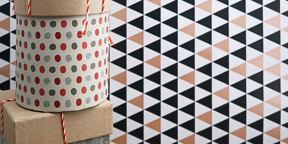 Atelier Boîtes Origami (avec matériaux de récup)
