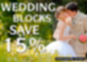 2019-20 WEDDING BLOCKS SAVE 15% 1400X100