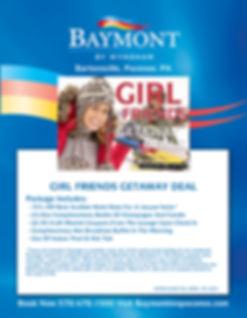 BAYMONT 2019-20 GIRL FRIENDS GETAWAY DEA