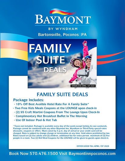 BAYMONT FAMILY SUITE DEAL