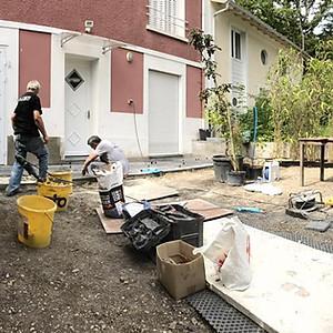 Rénovation d'une terasse