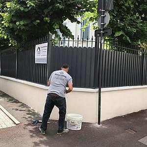 Rénovation d'une clôture